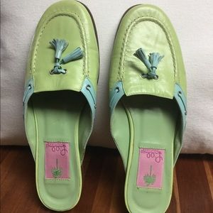 Lilly Pulitzer Slip-on  Mule Shoes size 6